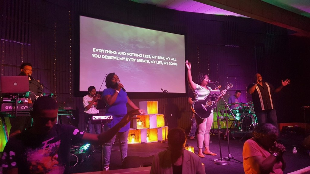 Meanwhile, at our Hammond campus, Pastor Sam said the 9am service worship was one of the most powerful times of worship to-date!