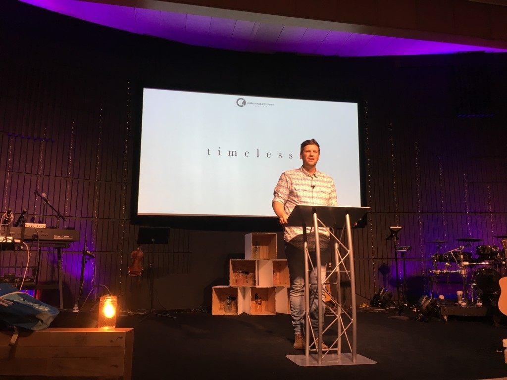 Pastor Sam tackled the Sexual Purity message, with great feedback from parents