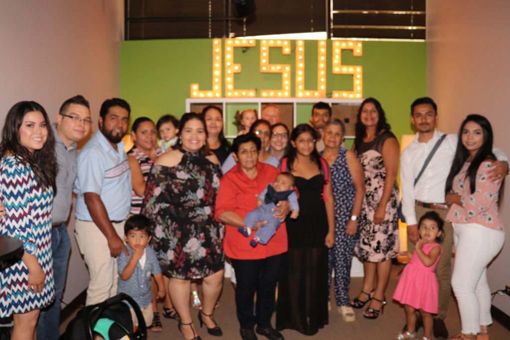 Meanwhile, it was a Baby Dedication Sunday in Blue Island today - love to see family members come together to dedicate a child (Congrats Daniel & Veronica and baby Jonas!)