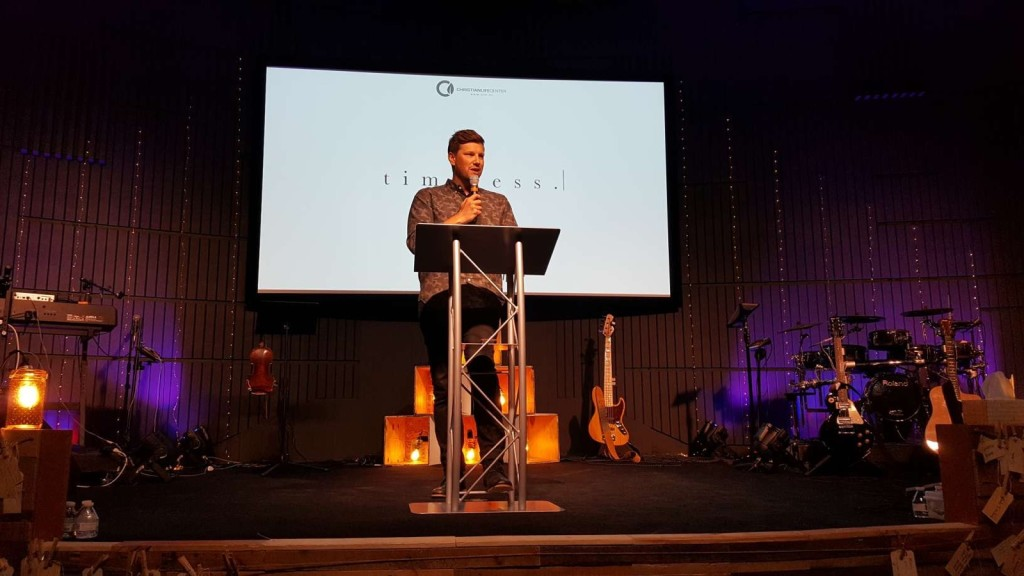 "Pastor Sam said the ""Integrity"" message seemed to connect well in Hammond, too!"