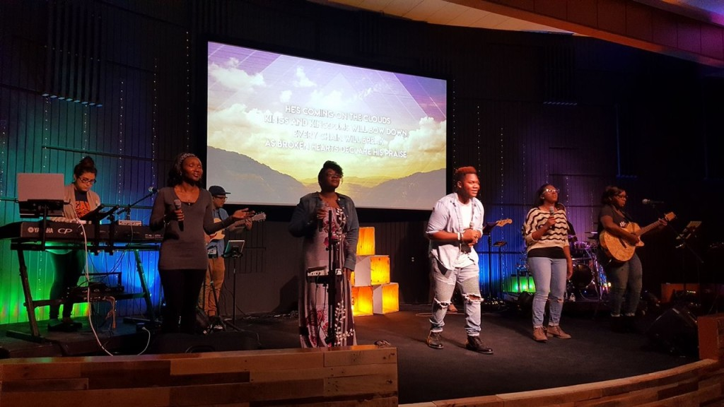 At our Hammond campus, during this interim without a worship director, the ENTIRE praise team stepped up to lead the congregation into His Presence, and Pastor Sam said it was really neat to see!