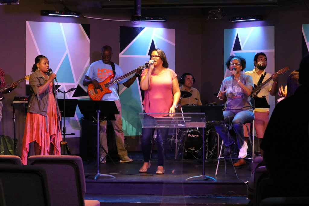 Our Blue Island worship team knows HOW!