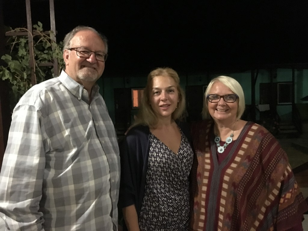 Bishop Edward leads the largest network of Russian churches and was unable to join us, but his wife Larissa was SO encouraging to us with her kindness throughout the retreat !