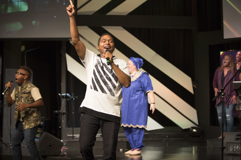 Worship at our Tinley Park campus was ON FIRE today!