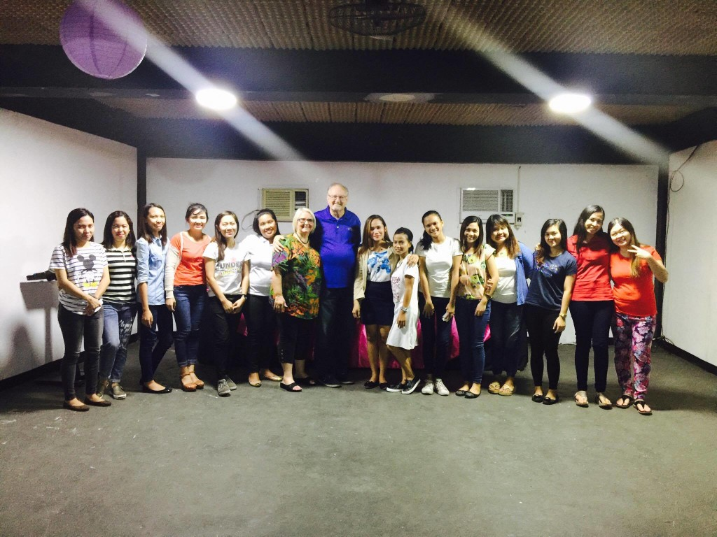 The children's ministry teachers of CLC-Davao joined us for a picture after tonight's training