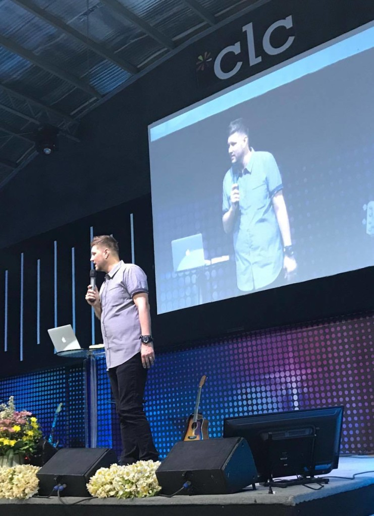 Sam preached the House down at the 10am service