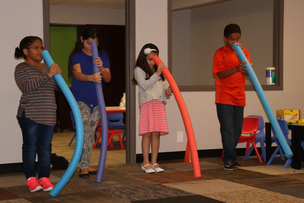 And our Blue Island Kidslife team made learning FUN today-