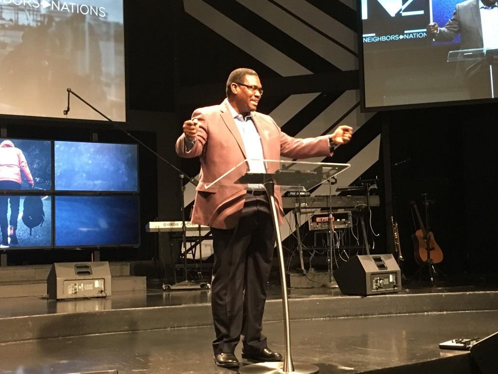 Dr. Chinedu Oranye delivered a 'Word' to us today - SO good!