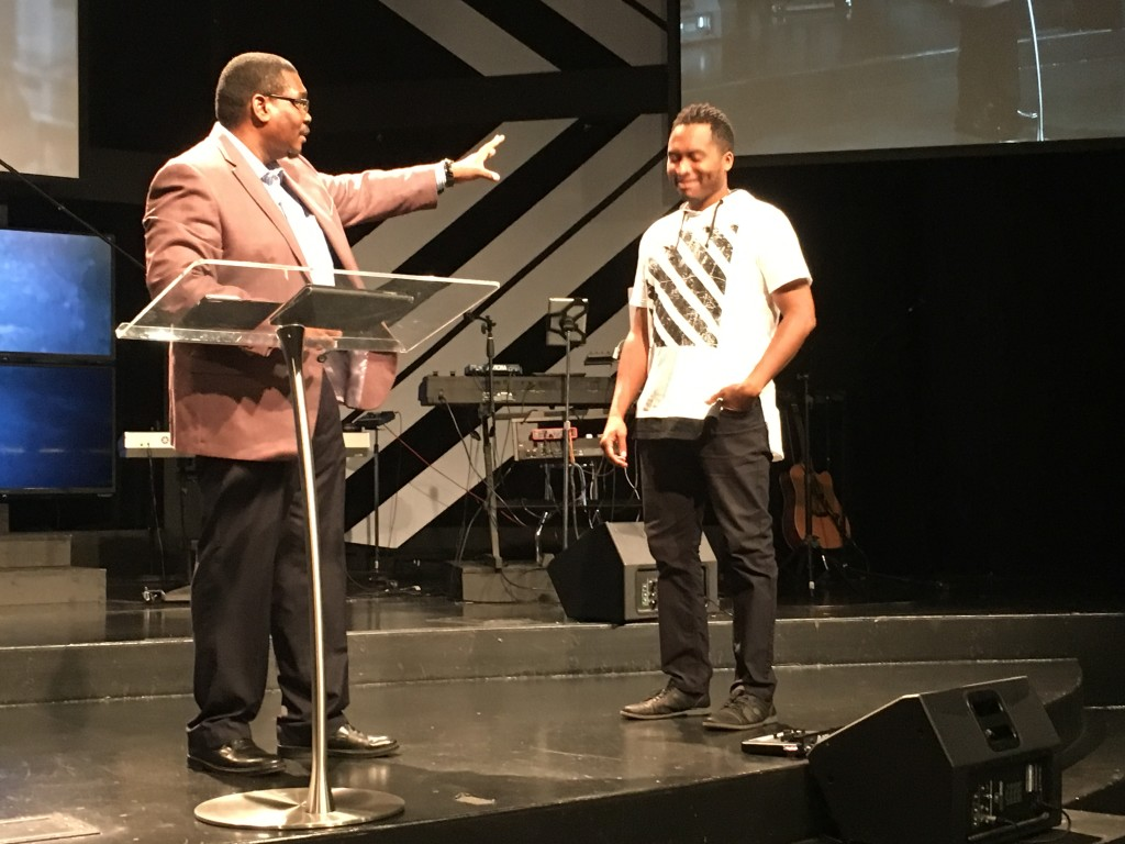 And he used Pastor Jon's hairstyle as an example of how we all follow someone-