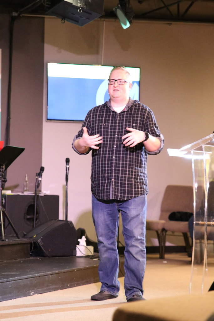 "Pastor Brent kicked-off the ""Made for Worship"" series with  a message that enabled everyone to come into God's Presence"