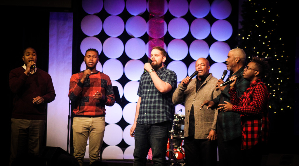 "A surprise treat for Christmas was the Men's Septet.....and they nailed ""The Greatest Gift is Love""!"