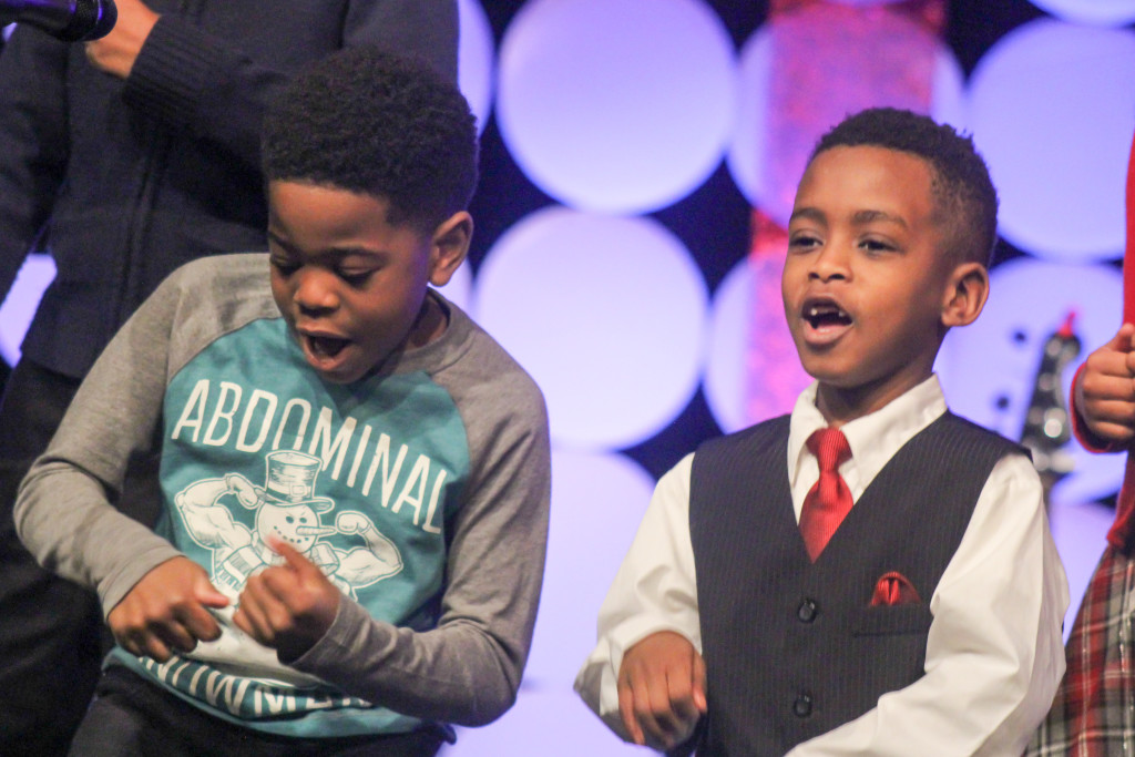 And these two little guys definitely STOLE THE SHOW! (thanks for the laughs, Kaleb Grant & Jon-Jon Jones)