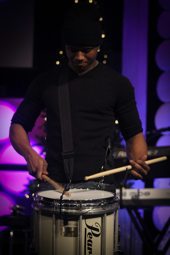 Our true drummer boy, Darius Johnson, did a mean drum solo for the finale!