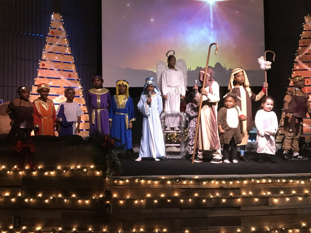 and the entire manger scene (plus the wise men)
