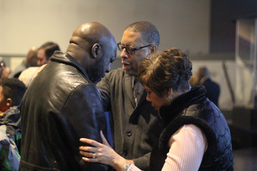 Seeing people come forward for prayer & personal ministry in each service never gets old!
