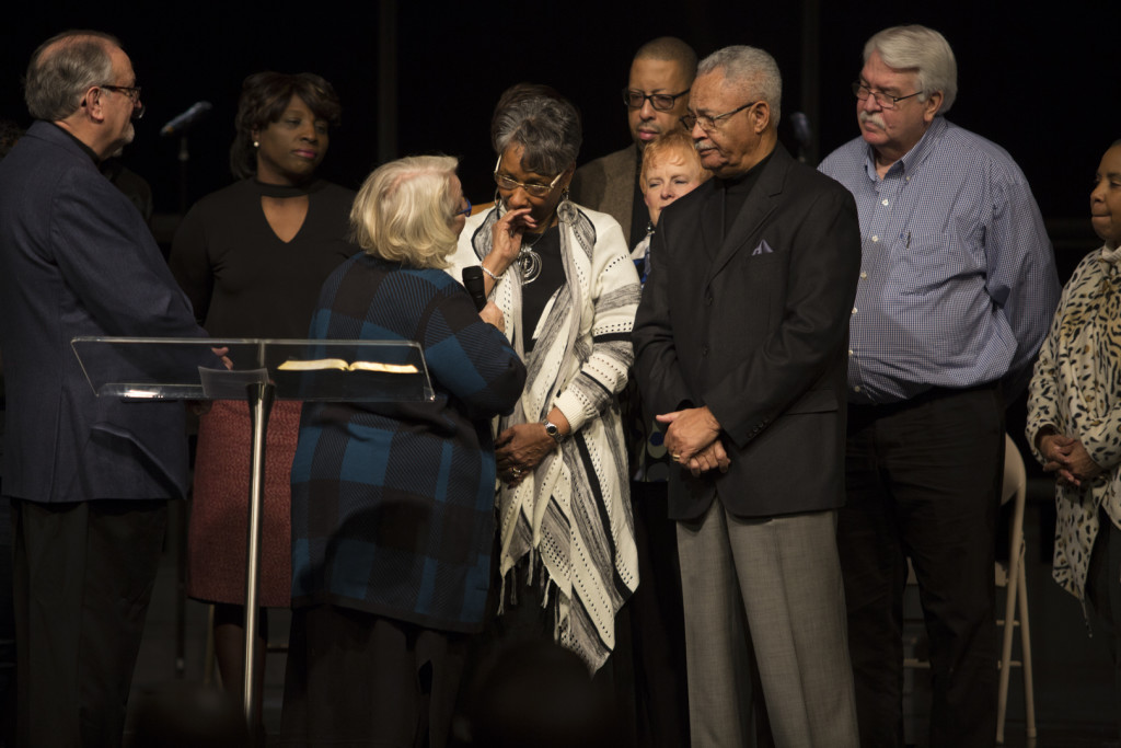 Saturday night we commissioned Len & JoMarie Cooper as Elders (recognizing the role they've already fulfilled for the past few years)