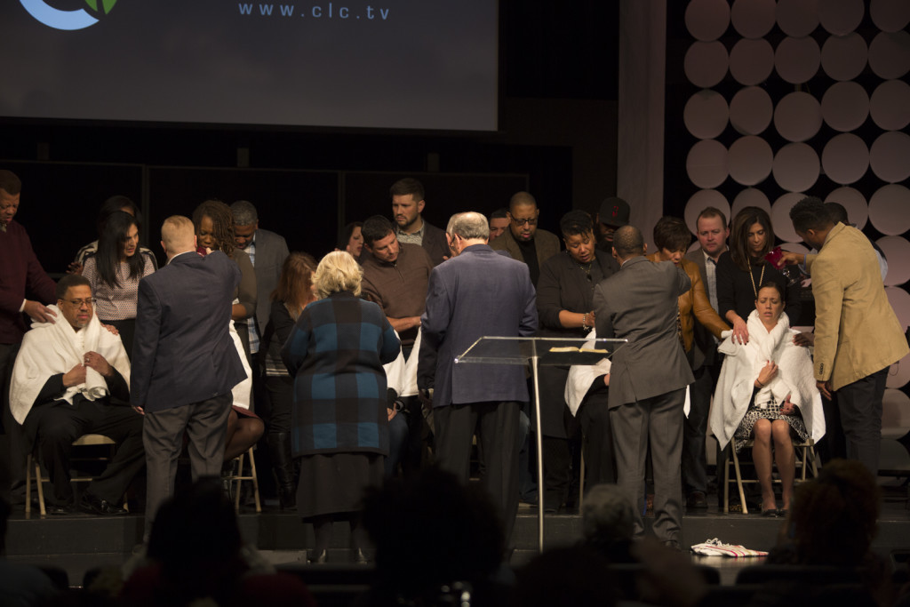We ordained 6 CLC pastors, with the help of all our pastors as well as Pastor Gordon Banks, Prophet Gary Heyes and Pastors Dan & Pat Johnson and Josh & Heather Moran.  What a special time - pouring the anointing oil, reading Scriptural charges, laying on hands in prayer & hearing prophetic words!